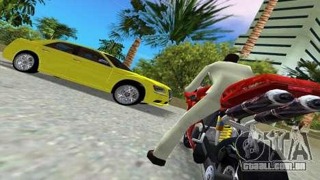 Lancia Nuova Thema para GTA Vice City vista interior