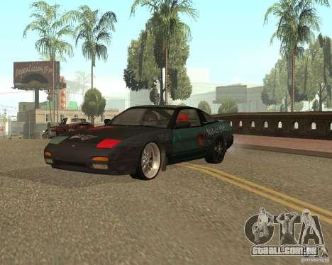 Nissan 240SX para GTA San Andreas vista direita
