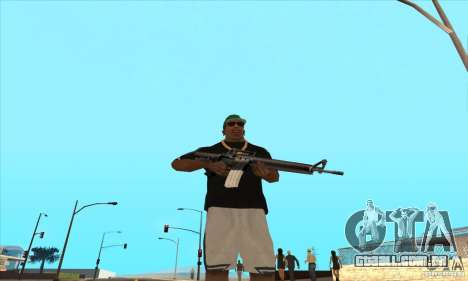 WEAPON BY SWORD para GTA San Andreas terceira tela