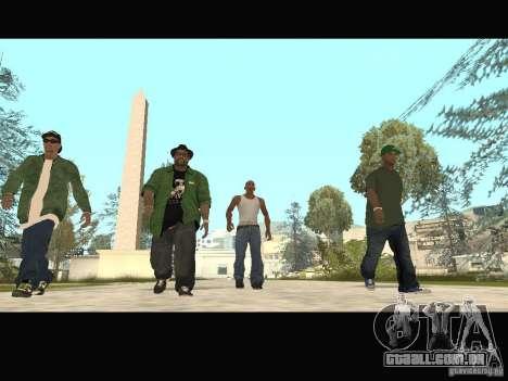 Family Skins Pack para GTA San Andreas