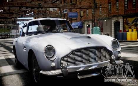 Aston Martin DB5 1964 para GTA 4 vista interior