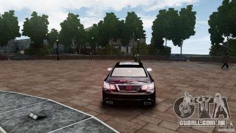 Mercedes Benz E500 Coupe para GTA 4 vista direita