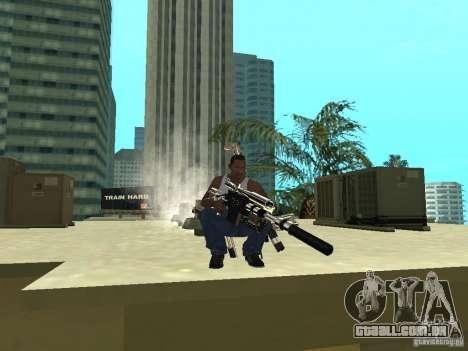 Weapons Pack para GTA San Andreas quinto tela