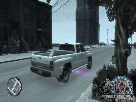 Dodge Ram 3500 para GTA 4 traseira esquerda vista