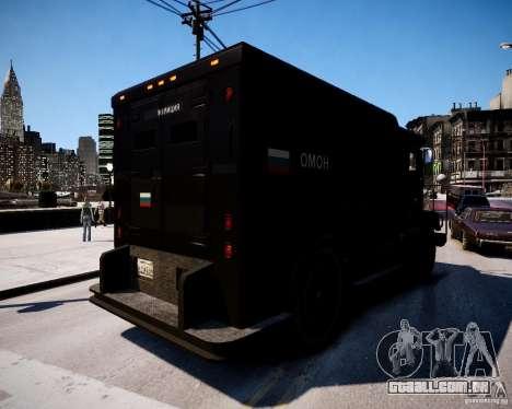 Russian Enforcer para GTA 4 traseira esquerda vista