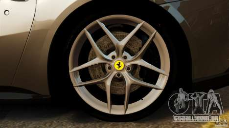 Ferrari F12 Berlinetta 2013 Stock para GTA 4 vista superior