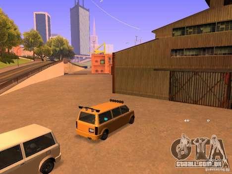 Moonbeam NN para vista lateral GTA San Andreas