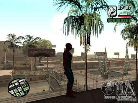 Spider Man From Movie para GTA San Andreas sexta tela