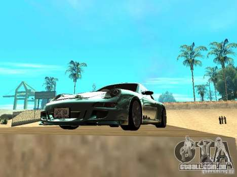 Porsche 997 GT3 RS para vista lateral GTA San Andreas