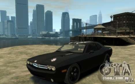 Dodge Challenger Concept Slipknot Edition para GTA 4