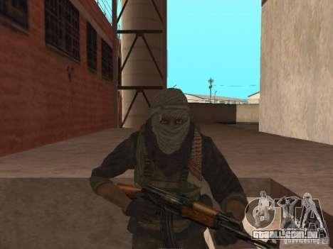 Dušman 2 do COD4MW para GTA San Andreas sexta tela