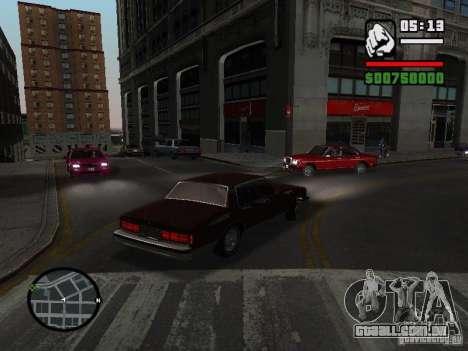 Chevrolet Caprice Classic 87 para GTA San Andreas esquerda vista
