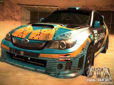Subaru Impreza Gravel Rally para GTA San Andreas