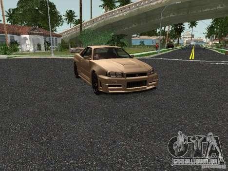 Nissan Skyline Z-Tune para GTA San Andreas esquerda vista