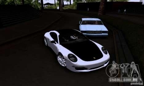 Porsche 911 Carrera S para GTA San Andreas vista direita