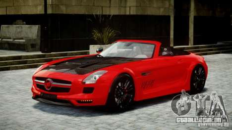 Mercedes-Benz SLS Roadster 2012 HAMANN HAWK AMG para GTA 4