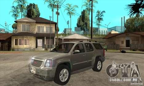 GMC Yukon 2008 para GTA San Andreas