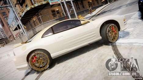 Mitsubishi Eclipse GTS Coupe para GTA 4 esquerda vista