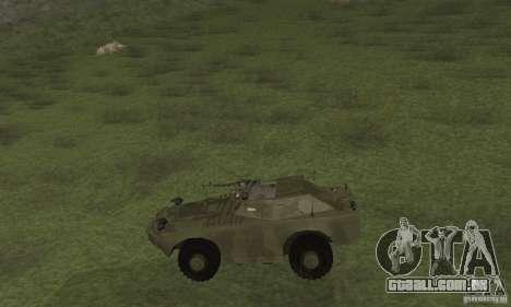 BRDM-1 pele 3 para GTA San Andreas traseira esquerda vista