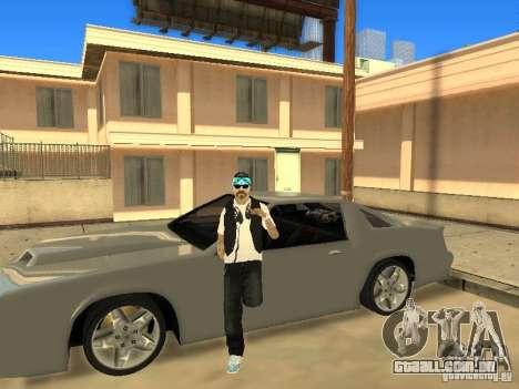 Skinpack Rifa Gang para GTA San Andreas por diante tela