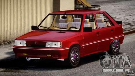 Renault Flash Turbo 11 para GTA 4 vista de volta