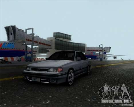 Subaru Legacy RS 1991 para GTA San Andreas traseira esquerda vista