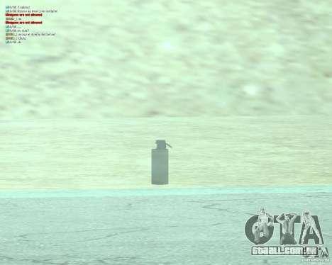 [Point Blank] WP Smoke para GTA San Andreas por diante tela