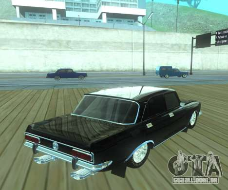 Dragster Moskvich 2140 para GTA San Andreas esquerda vista