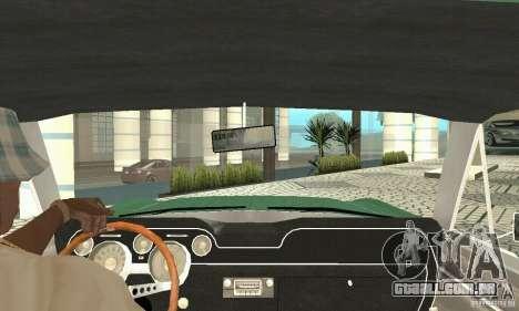 Ford Mustang Fastback 1967 para GTA San Andreas vista traseira