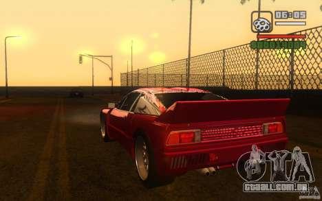 Lancia 037 Stradale para GTA San Andreas esquerda vista