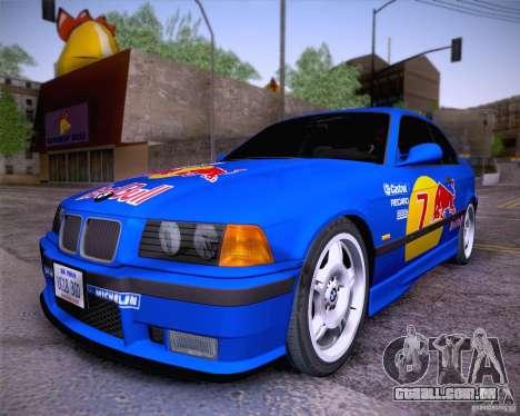 BMW M3 E36 1995 para GTA San Andreas vista direita