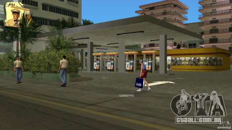 Shell Station para GTA Vice City