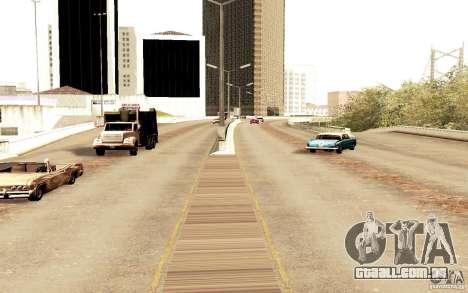 Um novo algoritmo para tráfego automóvel para GTA San Andreas por diante tela