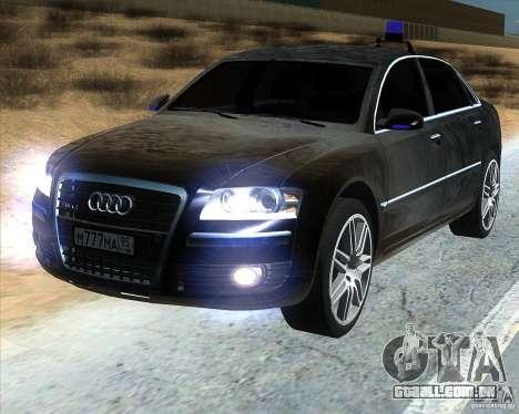 Audi A8L W12 para GTA San Andreas