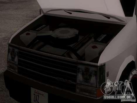 Plymouth Grand Voyager 1970 para GTA San Andreas vista traseira