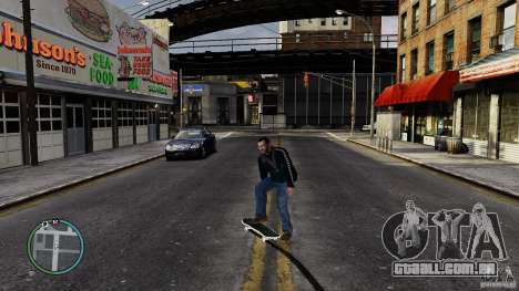 Skate # 2 para GTA 4 vista interior