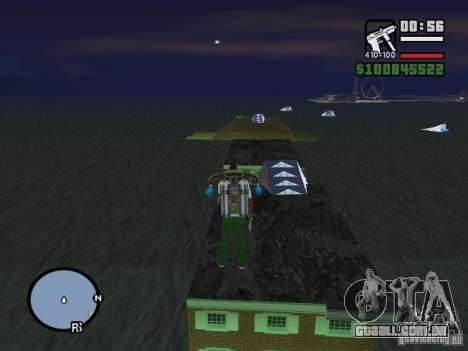 Night moto track V.2 para GTA San Andreas terceira tela