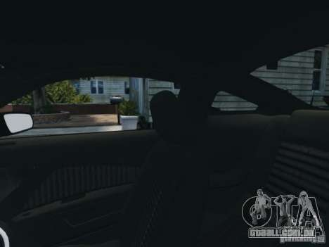 Ford Mustang GT 2011 para GTA 4 vista superior
