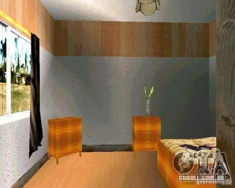 Nova casa CJ v. 2.0 para GTA San Andreas sexta tela