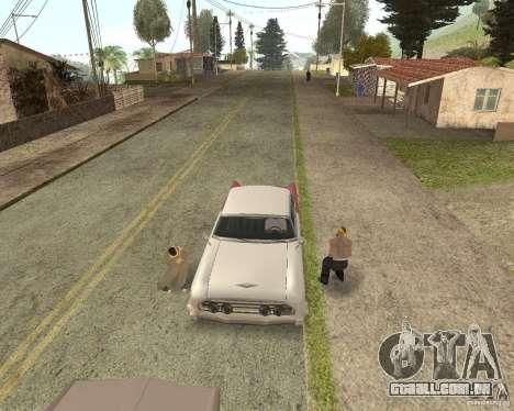 More Hostile Gangs 1.0 para GTA San Andreas por diante tela