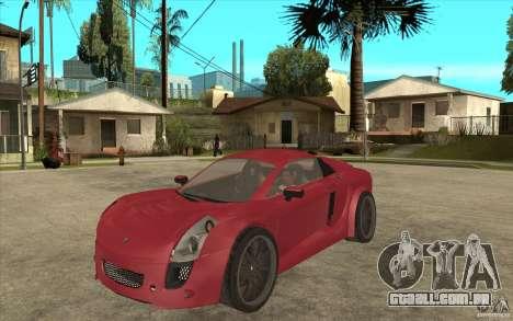 Mastretta MXT para GTA San Andreas