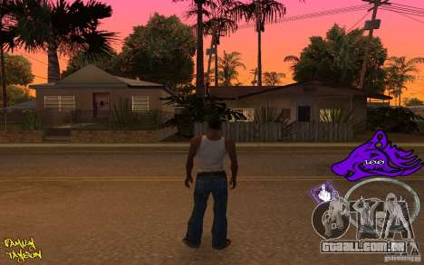 C-HUD by Roodney para GTA San Andreas segunda tela