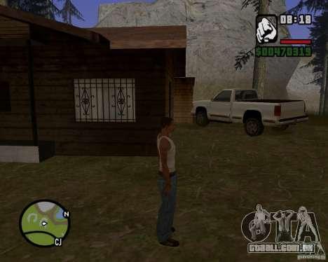 Casa caçador v 1.0 para GTA San Andreas segunda tela