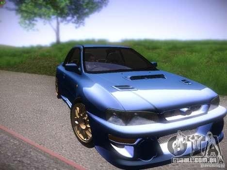 Subaru Impreza 22b Tunable para GTA San Andreas esquerda vista