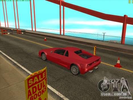 Ponte Takomskij (Tacoma Narrows Bridge) para GTA San Andreas quinto tela