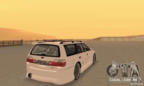 Nissan Stagea GTR para GTA San Andreas esquerda vista