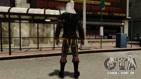 Geralt de Rivia v1 para GTA 4 terceira tela