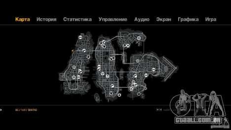 Trialovskaâ rota para GTA 4 por diante tela