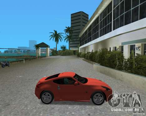 Nissan 370Z para GTA Vice City vista direita