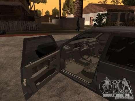 VAZ 21093 para GTA San Andreas traseira esquerda vista